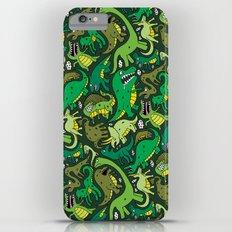 Dino Pattern Slim Case iPhone 6s Plus