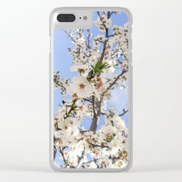 Birth Of Spring Clear iPhone Case