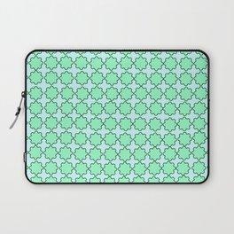 Mint Turquoise Pattern Laptop Sleeve