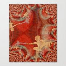 Couleur D'une Danse De Ballet 3 Canvas Print