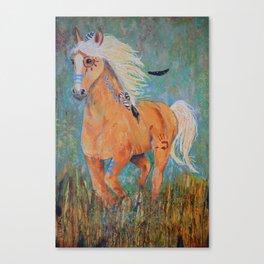 """Running Free"" Canvas Print"