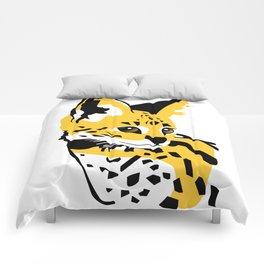 Serval 01 Comforters