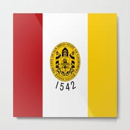 flag of San Diego Metal Print