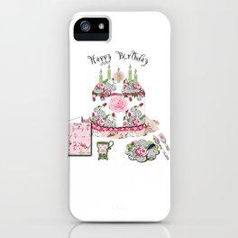 Happy Birthday Party iPhone Case