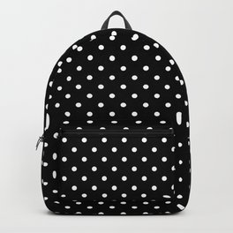 Dots (White/Black) Backpack