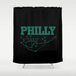 Philly Shower Curtain