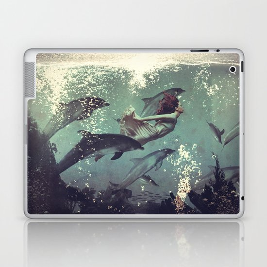 My favourite morning race Laptop & iPad Skin