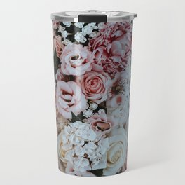 PINK ROSES BOUQUET Travel Mug