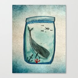 Whalewatching Canvas Print