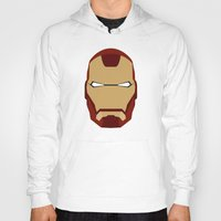 ironman Hoodies featuring IRONMAN by Alejandro de Antonio Fernández