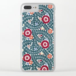 Wiener Werkstatte Textile Pattern, 1910 Clear iPhone Case
