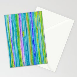 Into the Emerald Stationery Cards