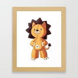 Kon. Framed Art Print