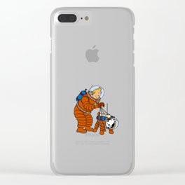 tintin Clear iPhone Case