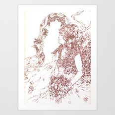 I do. Art Print