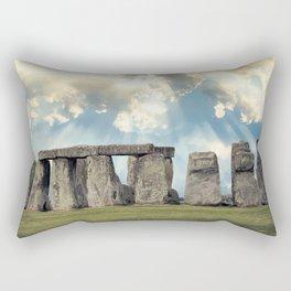 Stonehenge V Rectangular Pillow