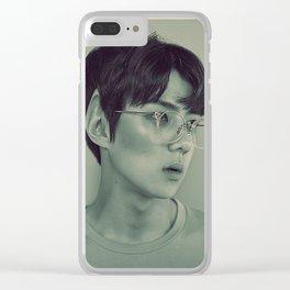 Elf Sehun Clear iPhone Case