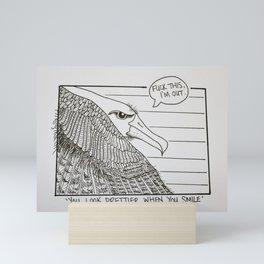 You Look Prettier When You Smile Mini Art Print
