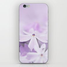 Purple Phlox iPhone & iPod Skin