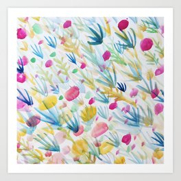 Field & Flower Art Print