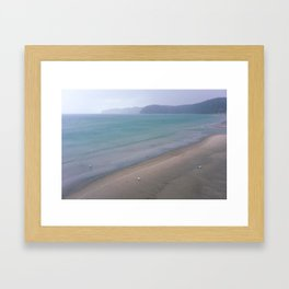 North Sea in Winter Framed Art Print