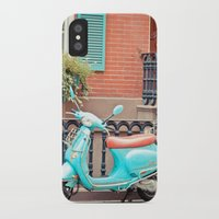 vespa iPhone & iPod Cases featuring Vespa  by Carmen Moreno Photography