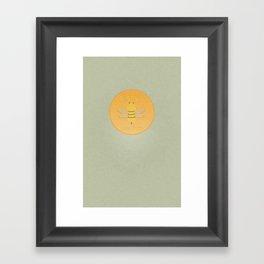 Bee Suave Framed Art Print