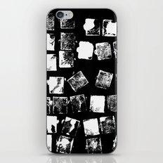 Stamp Black and White iPhone & iPod Skin
