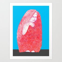 004 Kiddo Art Print