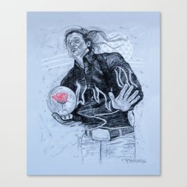 big ern mccracken- KINGPIN Canvas Print
