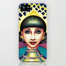 Golden crown iPhone Case