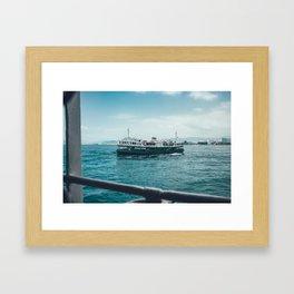 Star Ferry Framed Art Print
