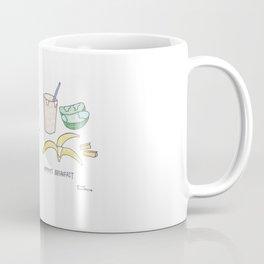 Baby's breakfast vs. mommy's breakfast Coffee Mug