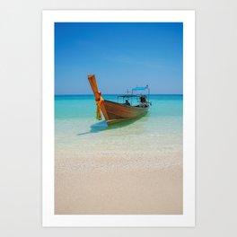 Bamboo Island Art Print