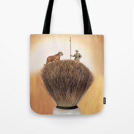 Shaving Brush Savanna Tote Bag