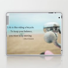 Life is Like Riding a Bicycle Laptop & iPad Skin