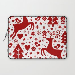 Scandinavian Christmas pattern Laptop Sleeve