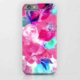 Light Bloom Pattern by Heidi Appel iPhone Case