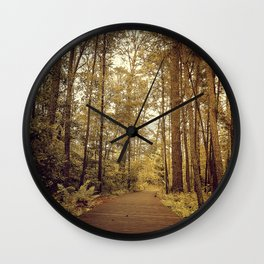 Into the Forst Wall Clock