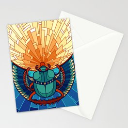 Rolling Star, Running Beetle Stationery Cards