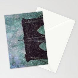 Snowy Brooklyn Stationery Cards