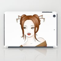 asia iPad Cases featuring Asia by Li-Bro
