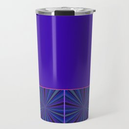 Mesmerized by Blues and Purples Travel Mug