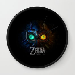 MAJORA MASK - ZELDA Wall Clock