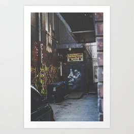 Alleyway: Kensington Art Print