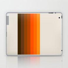 Retro Golden Rainbow - Straight Laptop & iPad Skin
