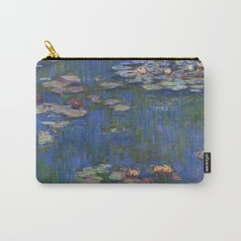 WATER LILIES - CLAUDE MONET Carry-All Pouch