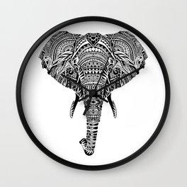 Polynesian Elephant Wall Clock