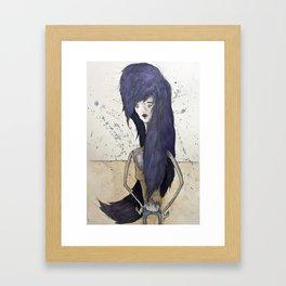 Marceline the Vampire Queen Framed Art Print
