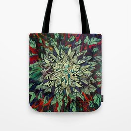 Enrich Your Life (Green) Tote Bag